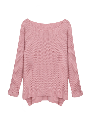 Chunky Ribbed Knitted Jumper
