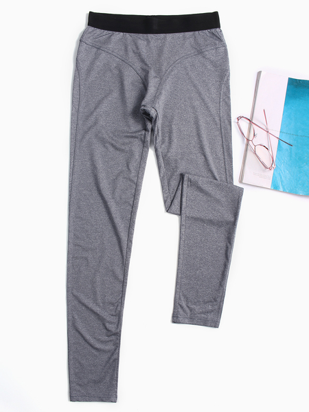 Active High Waist Yoga Leggings in Grey