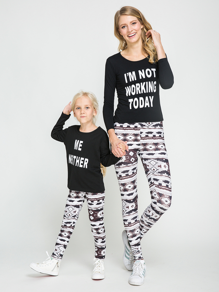 Mommy and Me Floral Print Leggings