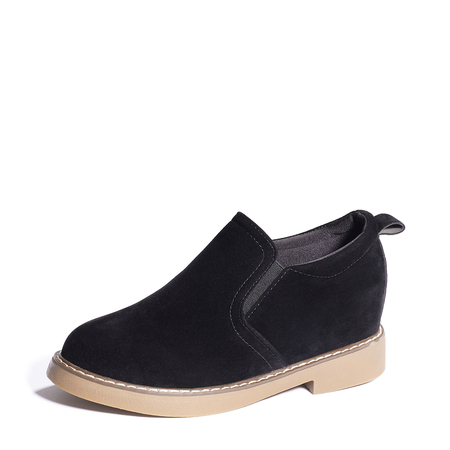 Black Fashion Suede Ankle Boots