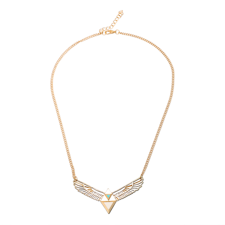Eagel Wings Pendant Chain Necklace