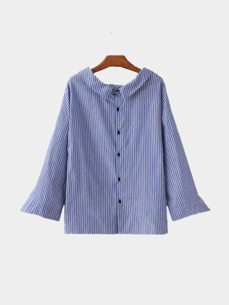 Stripe Pattern Shirt In Fresh Design