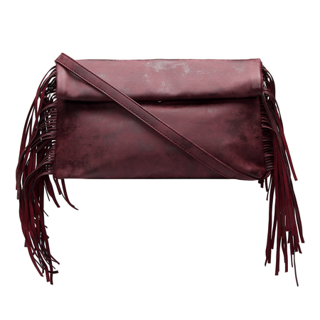Fashion Clutch Bag with Tassel Embellished