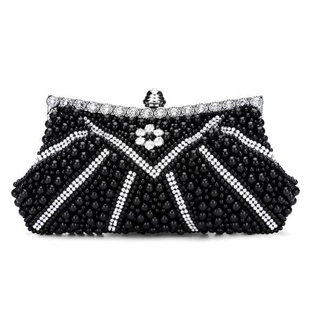 Je Clutch Bag in Black