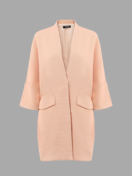 V-neck Trench Coat