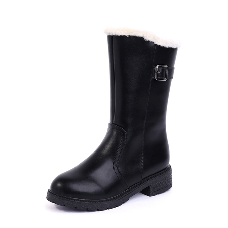 Black Antiskid Waterproof Warm Boots