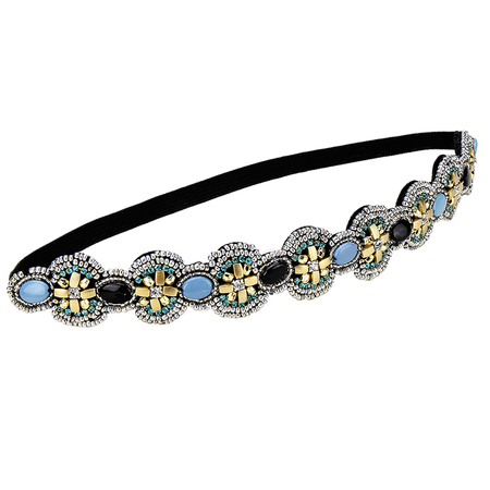 Ethnic Handmade Diamond Beaded Headband