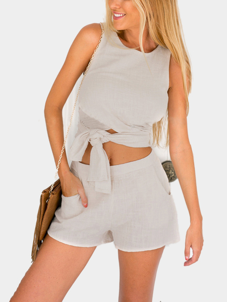 Sleeveless Convertible Co-ord