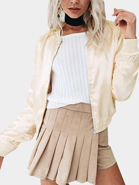 Classic Champagne Gold Fashion Jacket