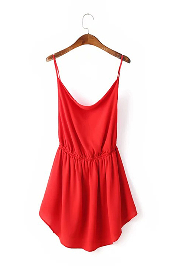 Cross Strap Cami Dress