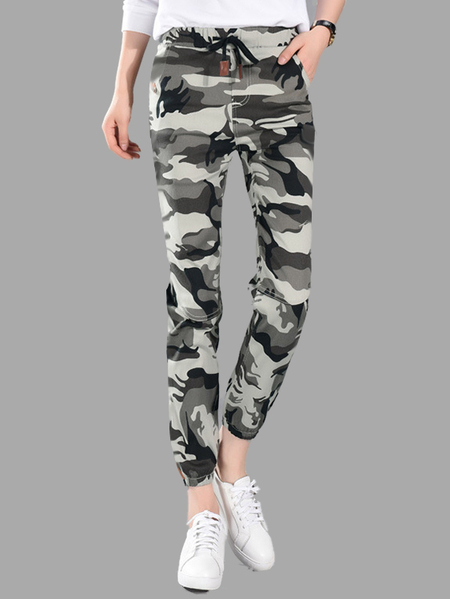 Camouflage Pattern Trousers