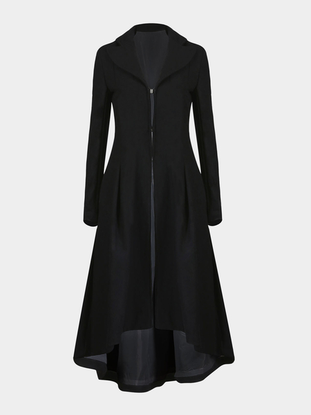 Lined Longline Trench Coat