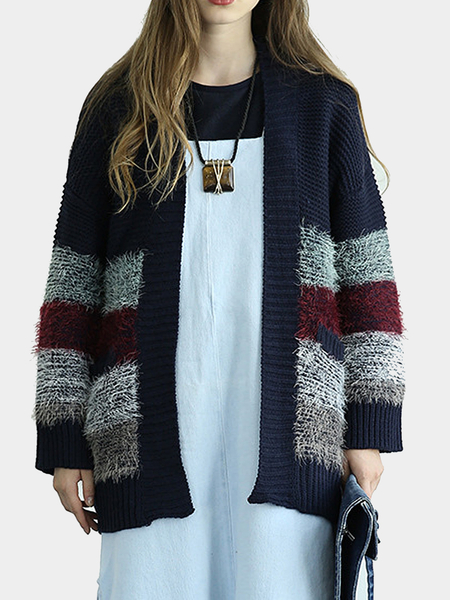 Cardigan With Gradient Pattern
