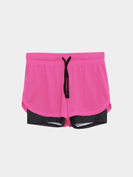 Drawstring Waist Running Shorts