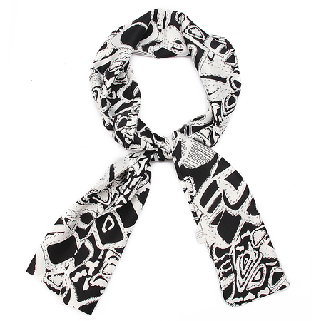 Printing Scarf in White