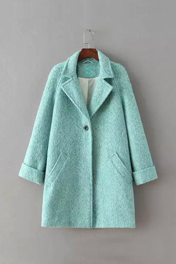 Aquamarine Duffle Coat