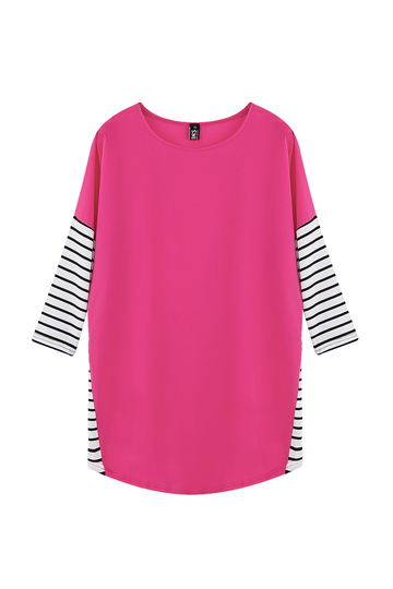 Patchwork Striped T-shirt