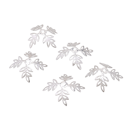 Silvery Snowflake Pattern Hair Accessory
