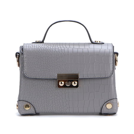 Grey Small Shoulder Bag