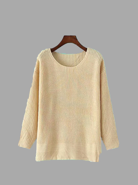 Ribbed Knit Jumper