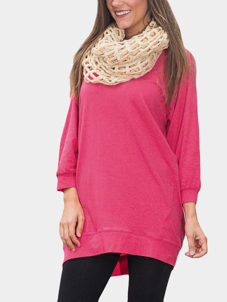 Plain Long Sleeves T-shirts