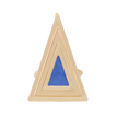 Blue Triangle Ring
