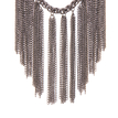 Chain Drape Collar Necklace