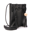 Black Drawstring Duffle Bag