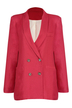 Blazer with Double Button Front