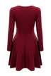 Skater Dress with Long Sleeve