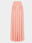 Pink Wide Cut Leg Trousers