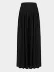 Black Wide Cut Leg Trousers