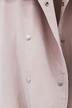 Plus Size Pink Autumn Buttons Blazer