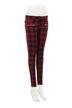 Red Trousers in Tartan