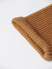 Ribbed Knit Jumper in Khaki