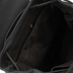 Two Front Pockets Backpack in Black