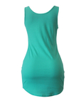 Light Green Round Neck Bodycon Mini Dress
