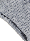 Grey Round Neck Loose Jumper