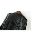 Fringed Biker Jacket
