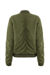 Olive Green Jacket with Zip Detail