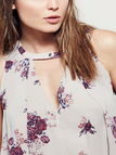 Swing Floral Sleeveless Tunic