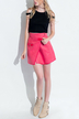 A-line Mini Wrap Skirt