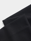 Black Ripped Details Long Sleeves Tracksuit