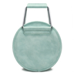 Artificial Leather-look Handbag in Green