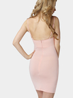 Pink Sexy V-neck Bodycon Cami Dress