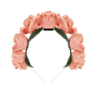 Gorgeous Flocking Fabric Rosette  Wedding Headband