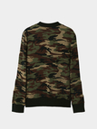 Camouflage Pattern Long Sleeves Side Pockets Fashion Jacket