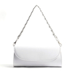 White PU Cover Shoulder Bag with Multi Strap