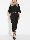 Cape Blackless Jumpsuit in Black