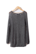 Grey Lightweight Jumpers with Zipper